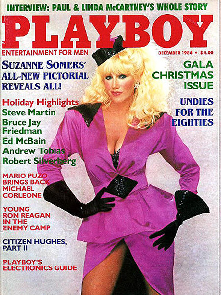Suzanne Somers playboy