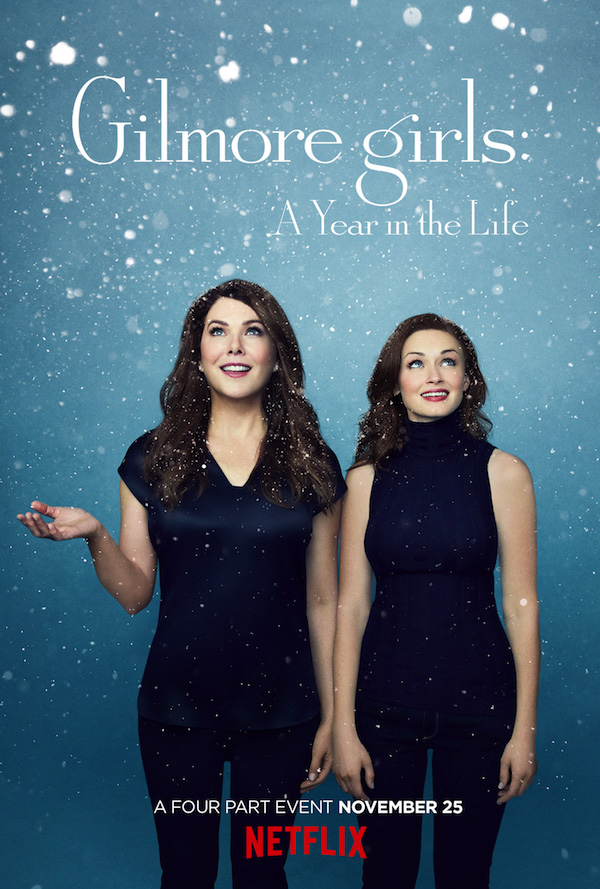 Affiche Gilmore Girls hiver