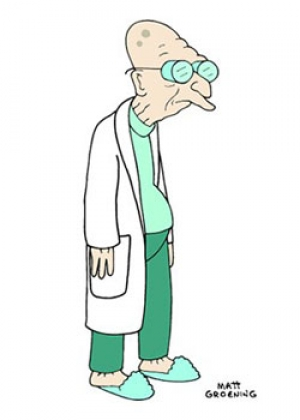 Professeur Hubert Farnsworth